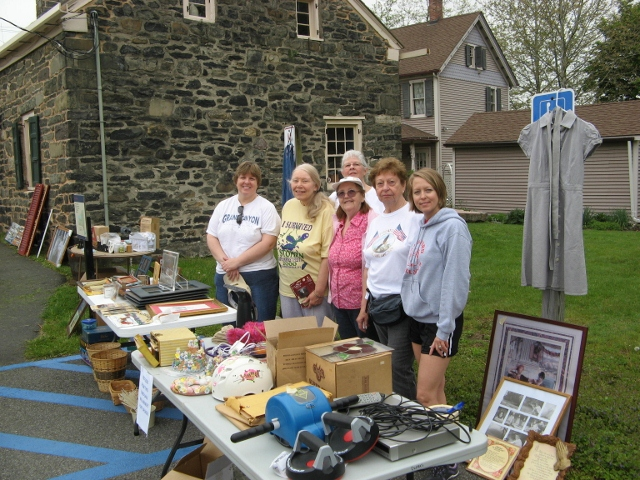Old Mine Rd Chapter DAR Yard Sale to benefit Fort Decker