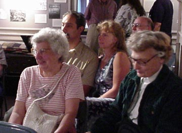 A few guests at the lecture on the New Netherlands